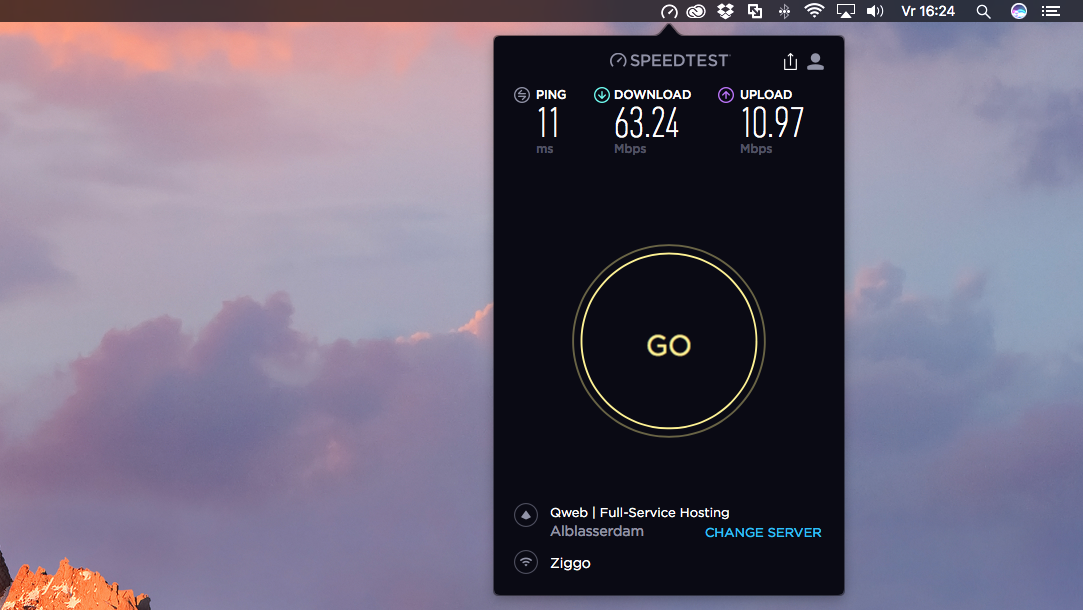 Ookla Speedtest nu ook als Mac-app | One More Thing