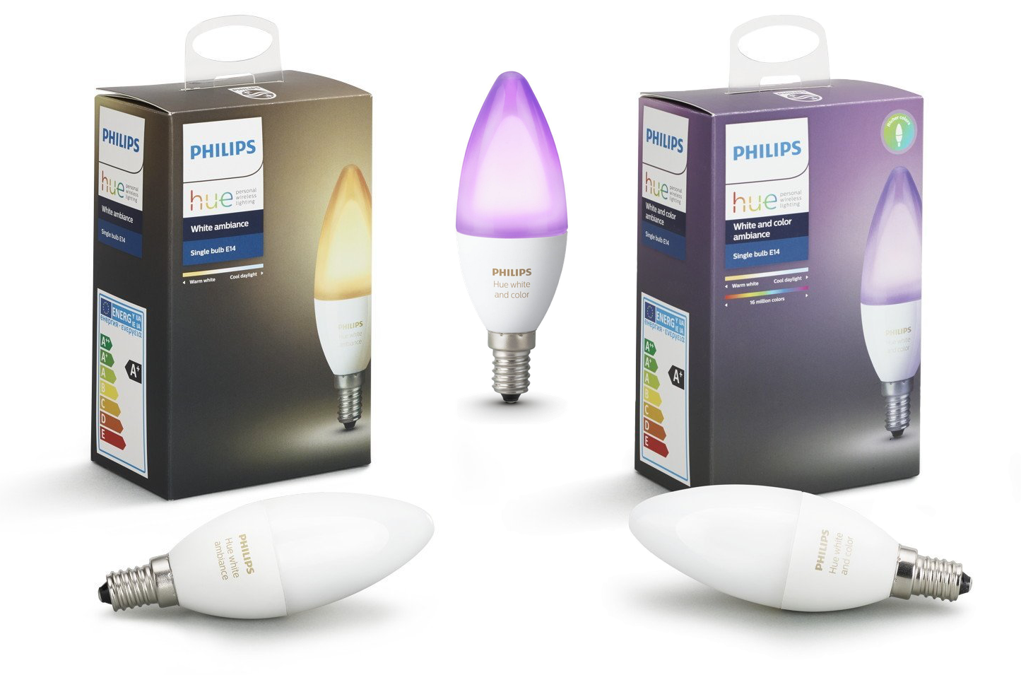 philips hue lampen met e14 fitting in april one more thing. Black Bedroom Furniture Sets. Home Design Ideas