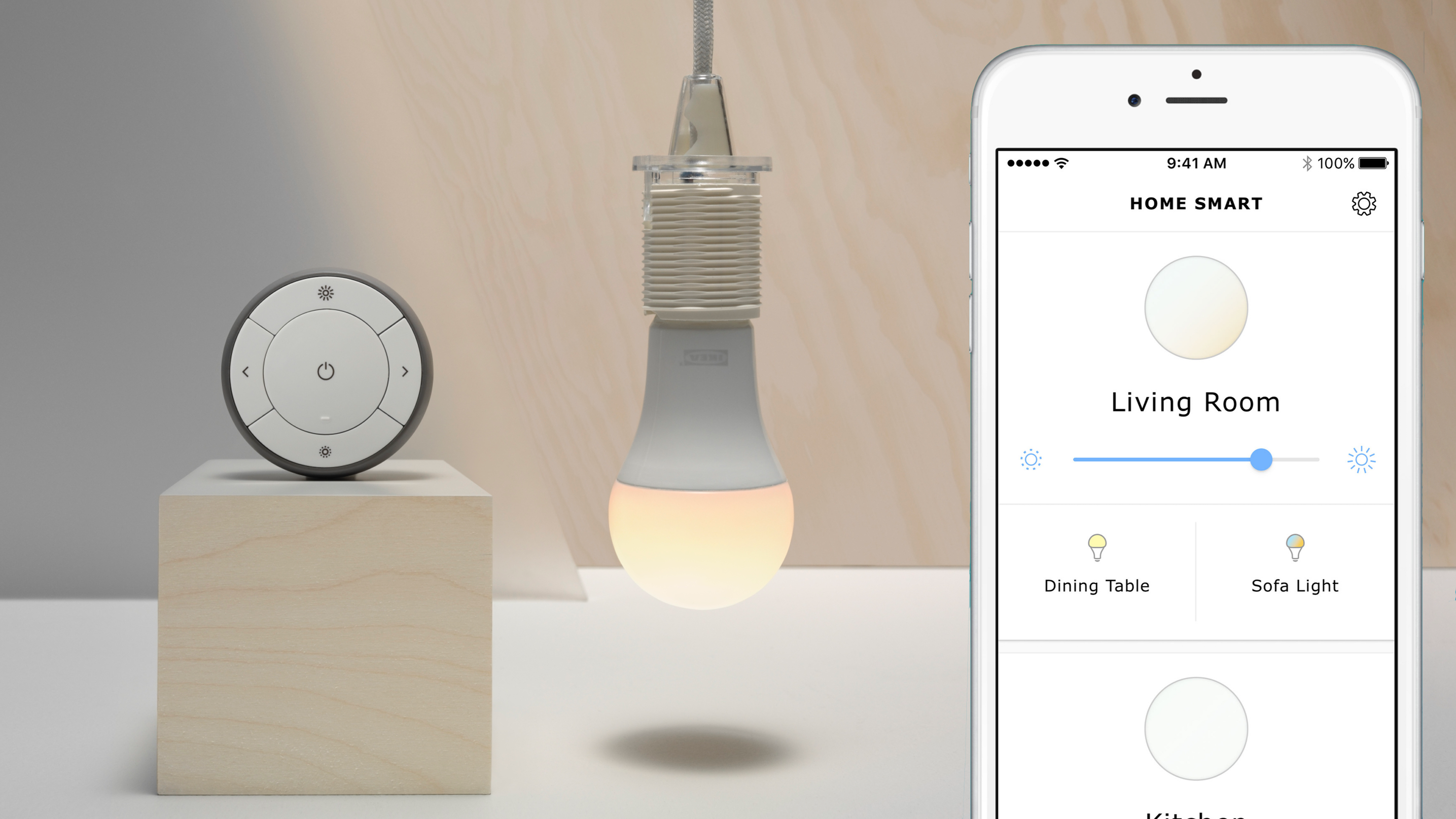 slimme lampen ikea werken straks met homekit one more thing. Black Bedroom Furniture Sets. Home Design Ideas