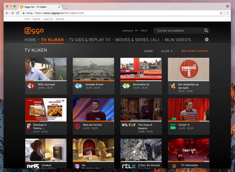 Bye bye Silverlight: Ziggo GO werkt nu met HTML5 » One ...