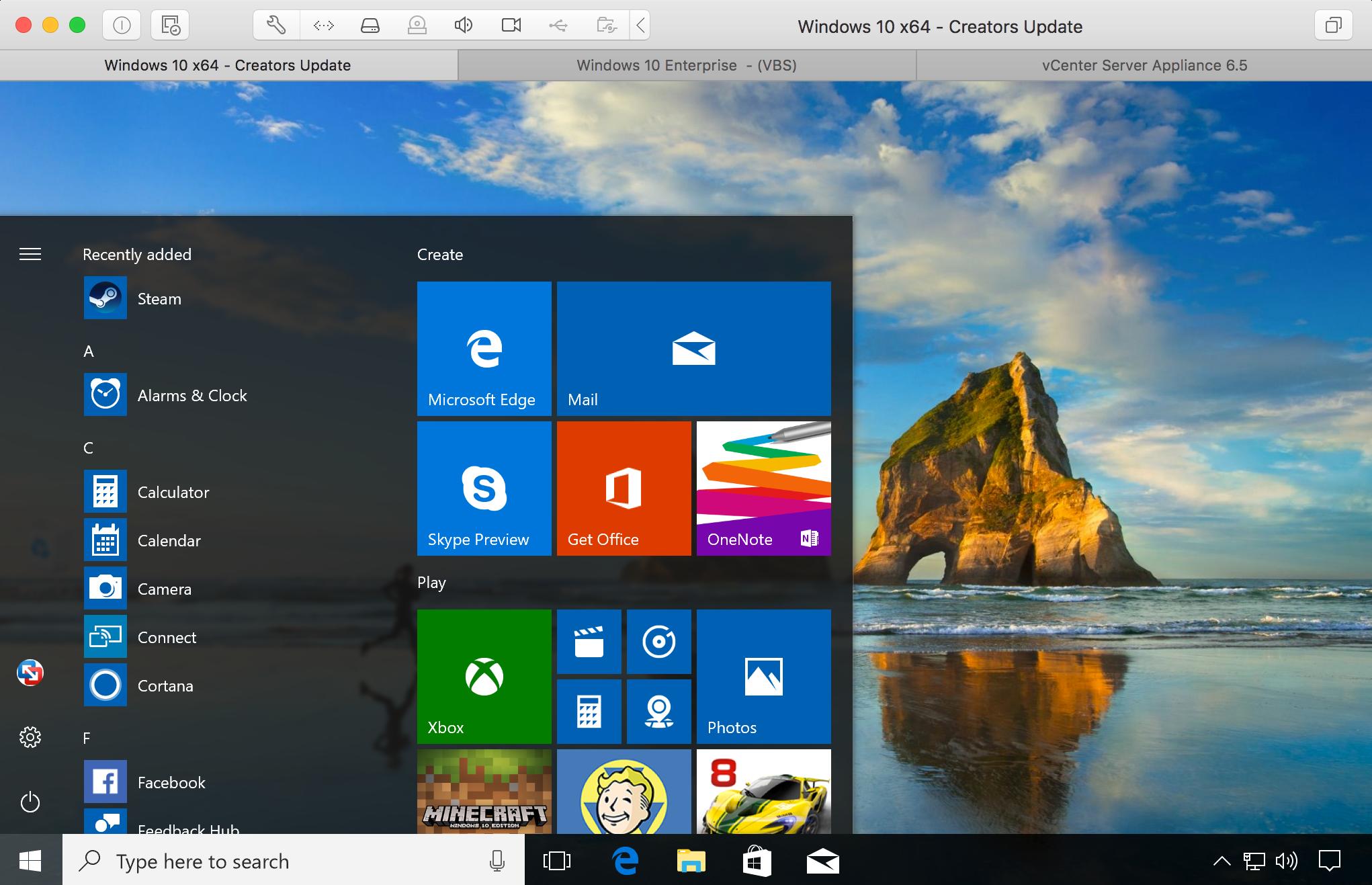 Vmware fusion 10 is overzichtelijker en klaar voor apfs one more thing - Er finestra mac ...