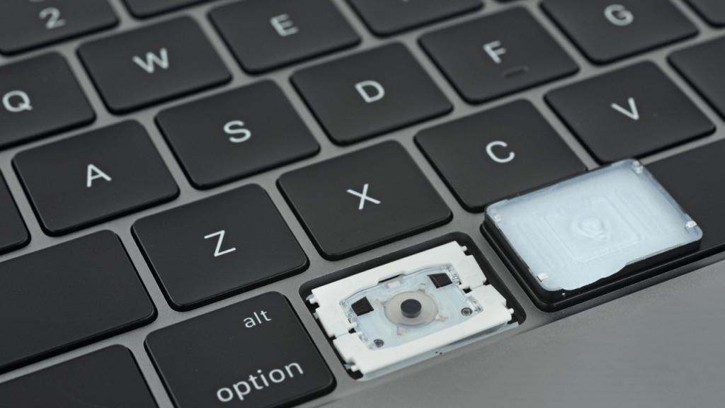 Toetsenbord probleem bestond niet op 2015 model MacBook Pro