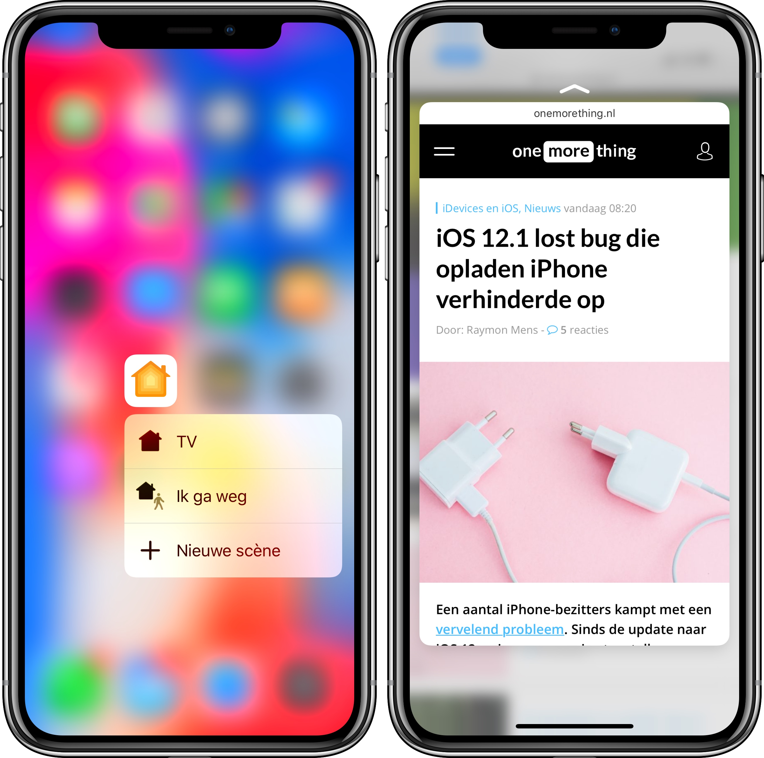 IPhone XR: Alles Over 3D Touch En Haptic Touch (FAQ