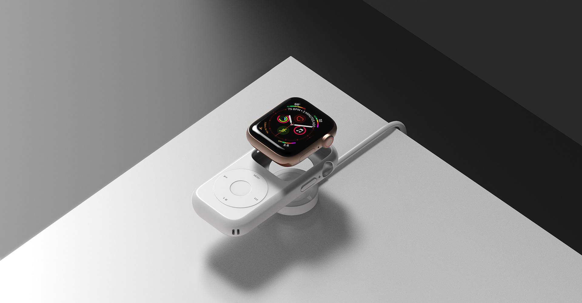 De Apple Watch ziet er ook als moderne iPod prachtig uit