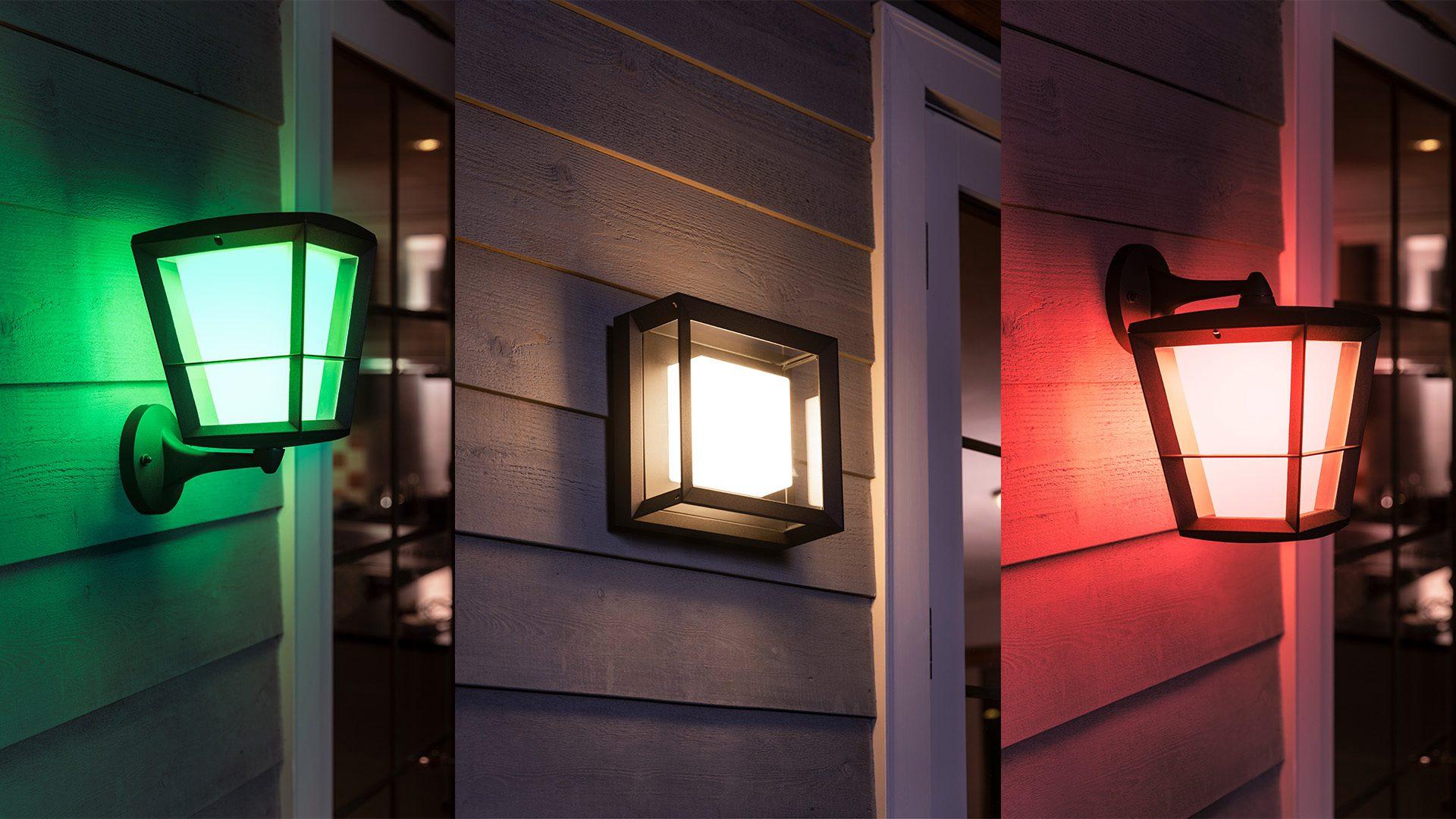Philips Breidt Hue Outdoor Uit Met Nieuwe Sensor En Lampen