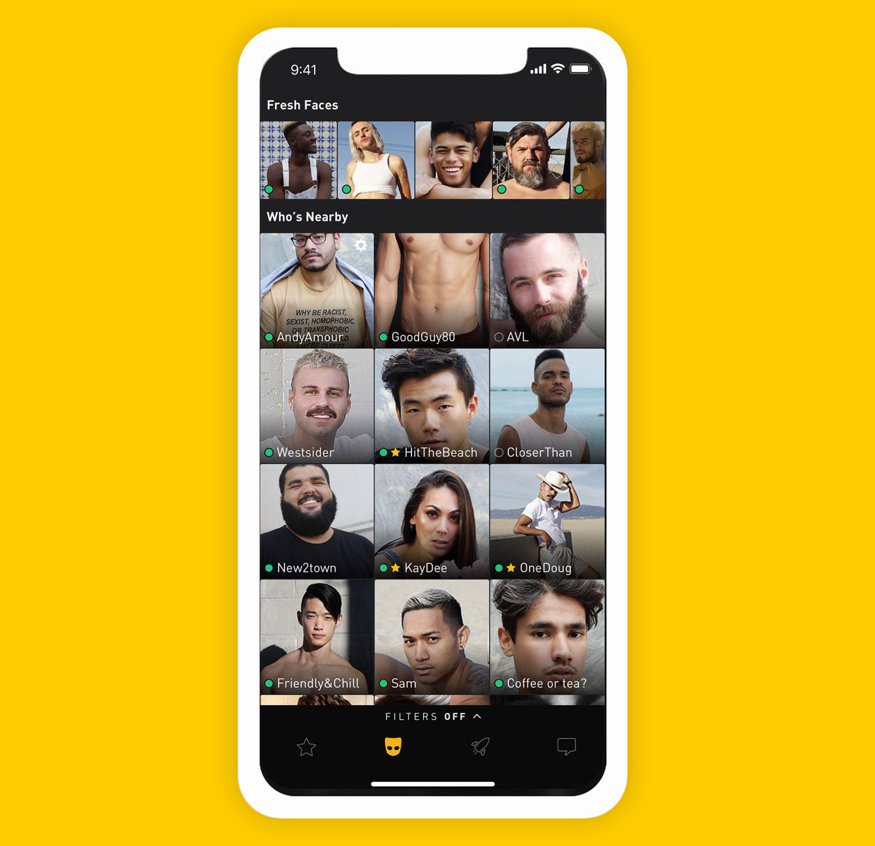 Lesbische dating-apps wie grindr
