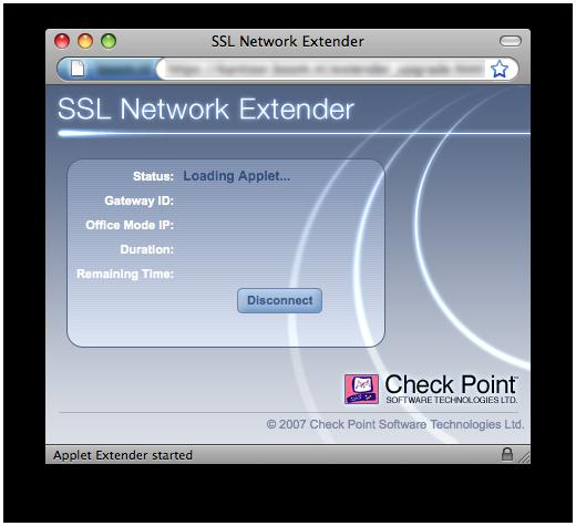 Inloggen met ssl network extender » One More Thing